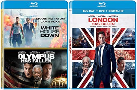 Action Movie Blu-ray Bundle: 3 Films (White House Down / Olympus Has Fallen / London Has Fallen)