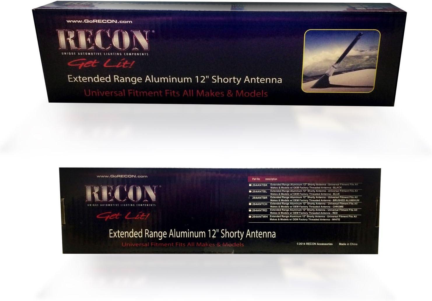 Recon 264Antbk Black 12 Antenna Mast