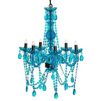 Amazon 3c4g chandelier turquoise home kitchen 3c4g chandelier turquoise aloadofball Gallery