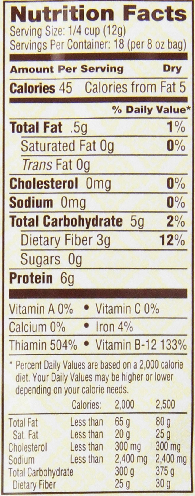 Bob's Red Mill Gluten Free Large Flake Nutritional Yeast, 8 Oz (4 Pack) by Bob's Red Mill (Image #2)