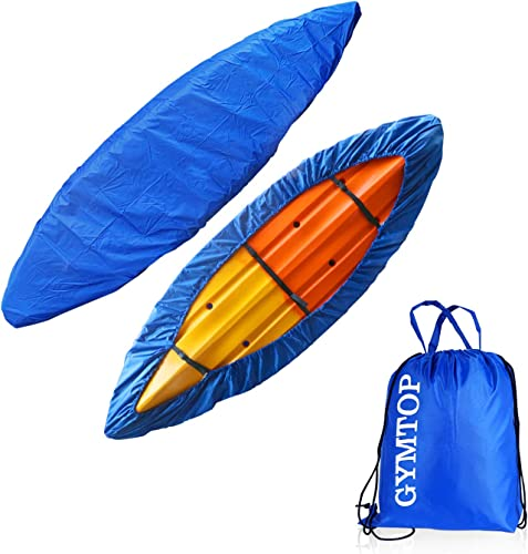 8-18ft Waterproof Storage/Dust Cover (Sunblock Shield) for Fishing Boat/Kayak/Canoe with Bag [Gymtop] Picture
