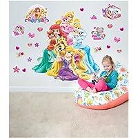 Prensesler Dev Duvar sticker, Duvar Dekorasyon, Oda Dekoru, Sticker, Duvar Kaplama Disney Prensesler Duvar Sticker