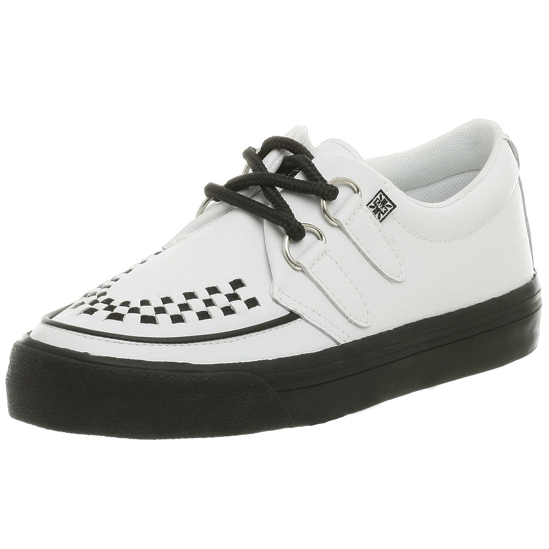 T.U.K. Unisex Creeper Sneaker B000VZLRR4 Men's 8 M/Women's 10 M|White