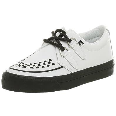 T.U.K. Unisex Creeper Sneaker,White,Men's 6 M/Women's ...
