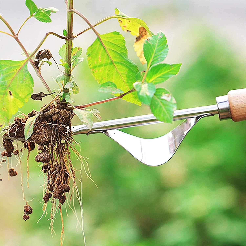 YB Garden Extracteur Manuel de Mauvaises Herbes Extracteur de Pissenlit r/ésistant /à la Flexion Extracteur Rapide et /économique en Alliage daluminium Outils de d/ésherbage pour Jardin Pelouse