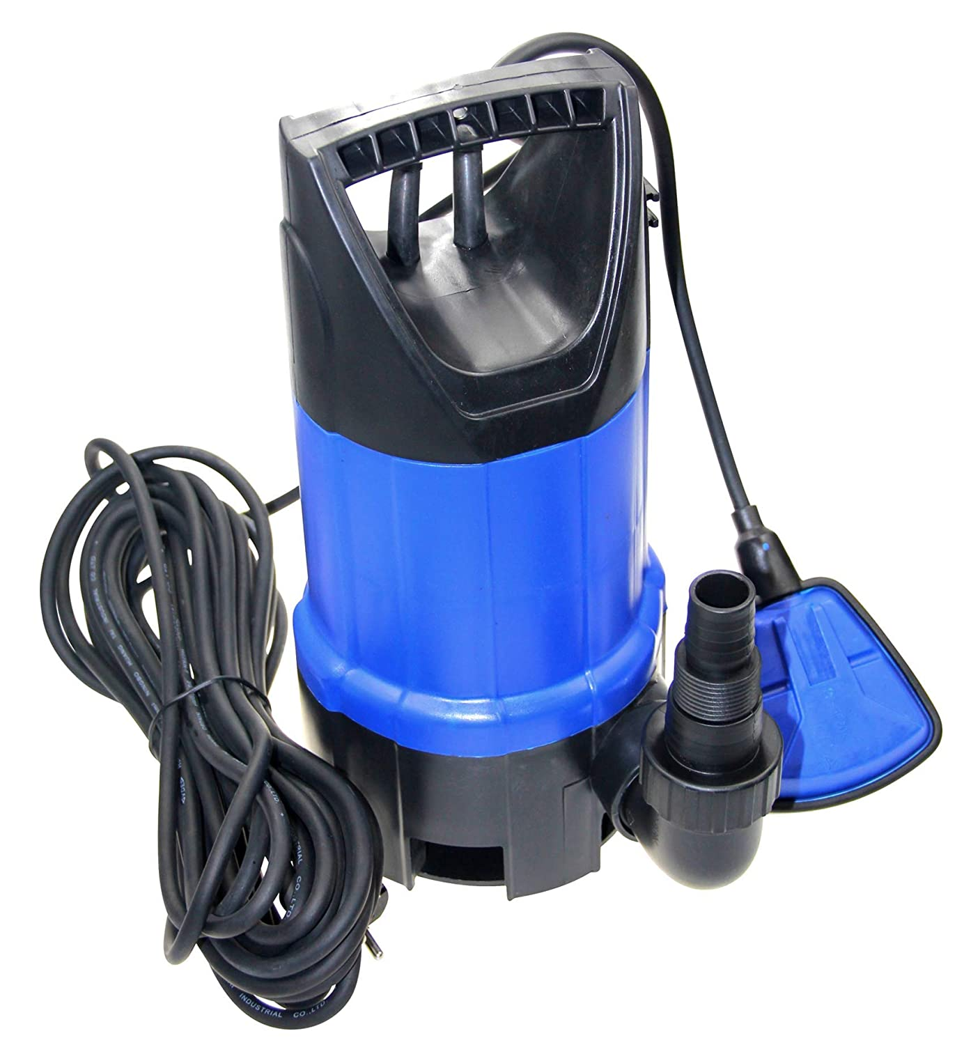 400W Electric Submersible Water Pump Clean Garden Irrigation With Float Portable