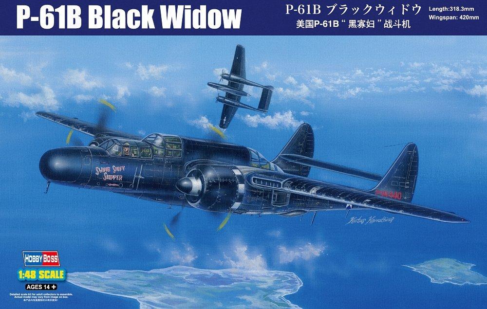 Hobby Boss 81731 - Modellbausatz US P-61B schwarz Widow B00V3OEORW Luftfahrt Das hochwertigste Material  | Hohe Qualität und geringer Aufwand