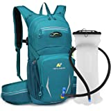 N NEVO RHINO Hydration Pack, Insulated 2 Waist Bags,2L/3L Water Bladder BPA Free Leakproof for Cycling/Hiking/Backpacking/Cli