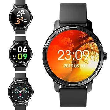 jpantech Smartwatch, Impermeable Reloj Inteligente Hombre Mujer ...
