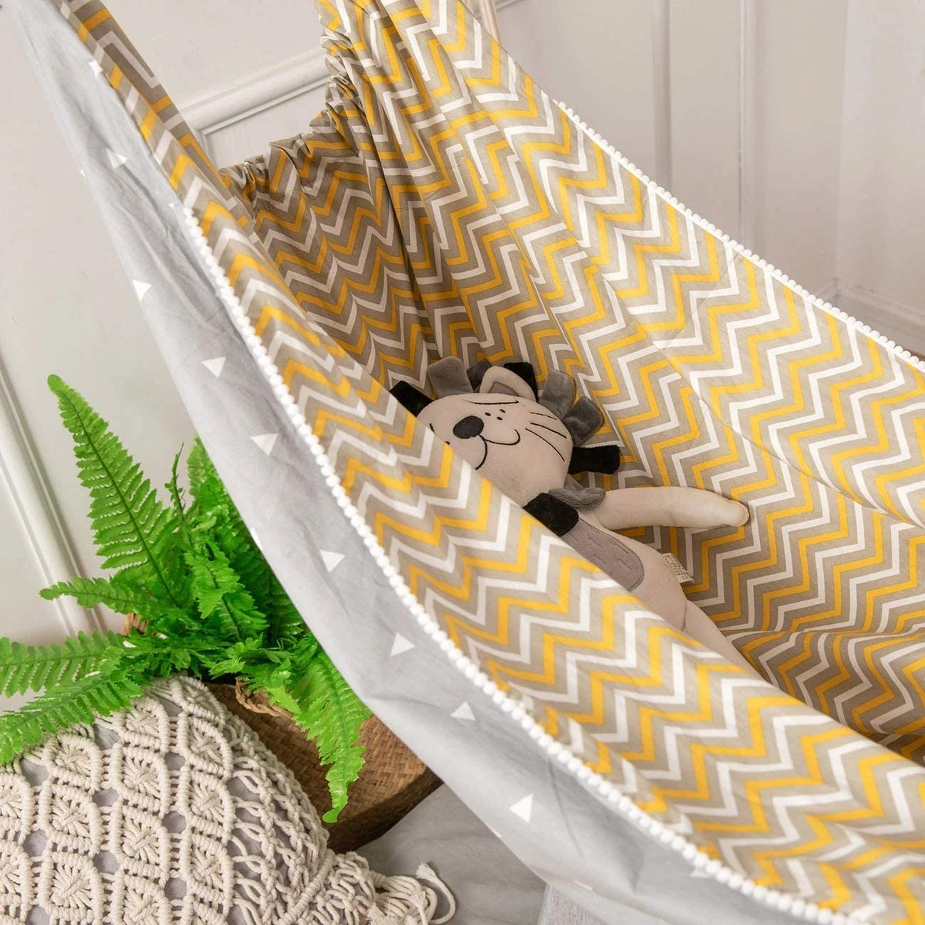 Gray Baby Swing Nursery Sleeping Bed Newborn Crib Home Outdoor Detachable Portable Comfortable Bed Kit Infant Hammock baby bouncer