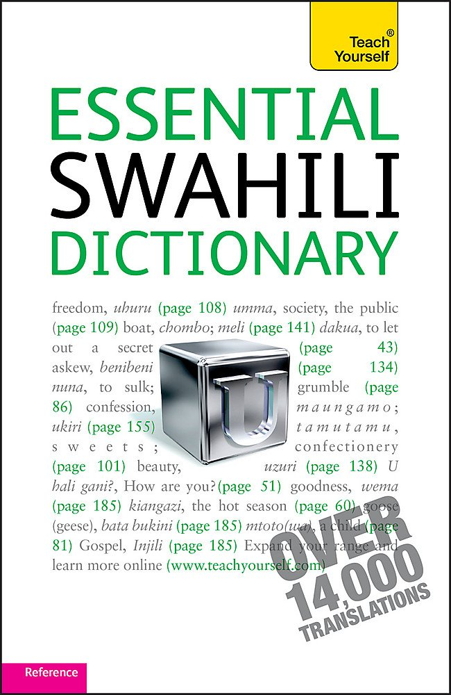 Essential Swahili Dictionary  Teach Yourself