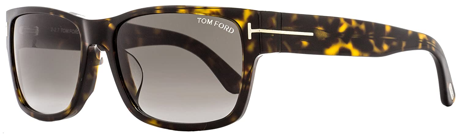 e5a0039bfa Tom Ford Sunglasses - FT0445-F 52B - Dark Havana Gradient Smoke 59mm at Amazon  Men s Clothing store