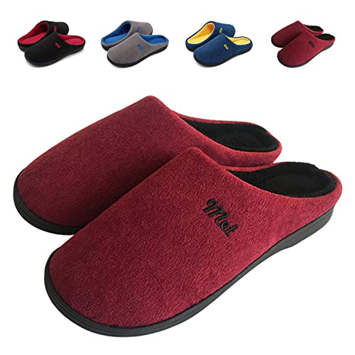 ZIITOP Zapatillas de Estar por Casa Mujer Hombre Invierno Al Aire Libre Zapatillas Caliente Slippers Interior Suave Algodón Zapatilla Mujer Hombres Casa ...
