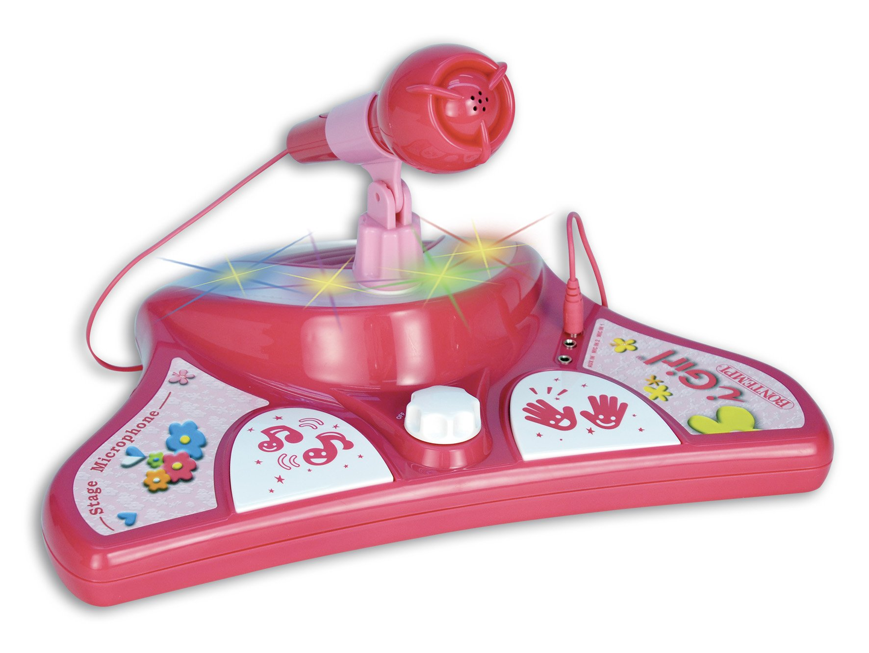 Bontempi iGirl Pink Portable Karaoke Set with Extra Microphone by Bontempi (Image #3)