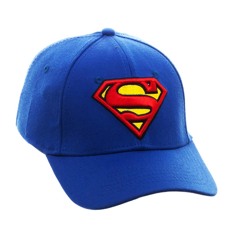 Superman - Gorra con Logo (Talla Única/Azul): Amazon.es: Ropa y ...