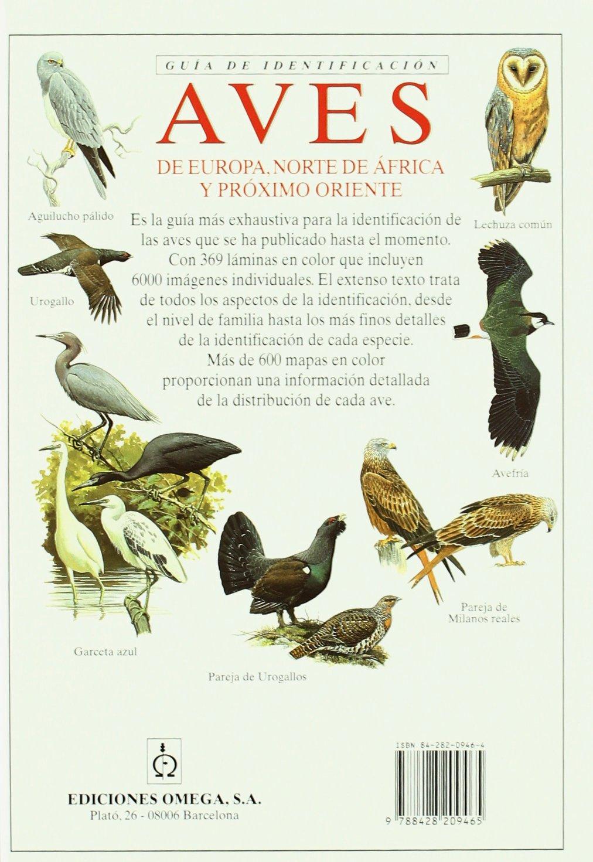 AVES DE EUROPA. GUIA DE IDENTIFICACION GUIAS DEL NATURALISTA-AVES ...