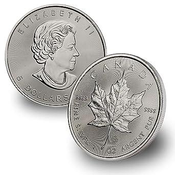 $5 2003 Silver Maple Leaf 1 oz .9999  pure Silver
