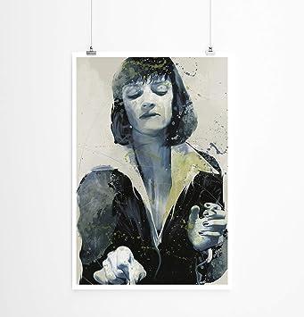 Paul Sinus Art UMA Thurman Pulp Fiction 90 x 60 cm como Lienzo y ...