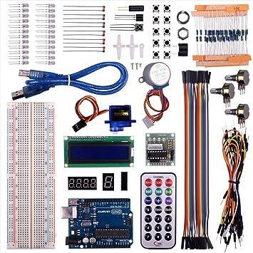 Amazon kuman uno r3 project super starter kit for arduino diy kuman uno r3 project super starter kit for arduino diy mega 2560 nano learning kits lcd publicscrutiny Choice Image