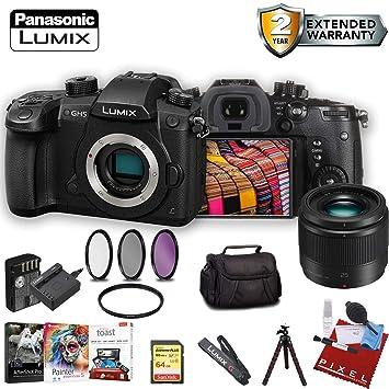 Amazon.com: Panasonic Lumix DC-GH5 - Juego de accesorios de ...