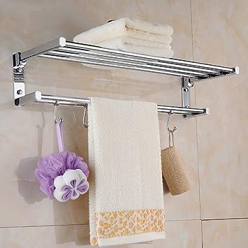 Actividades de Cobre Plegable Toalla toallero Cuarto de baño ...