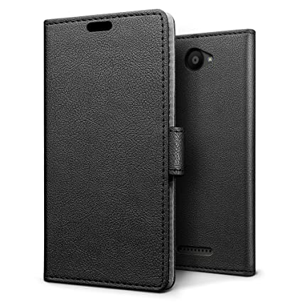 Amazon.com: SLEO BQ Aquaris U Lite Case - SLEO Luxury Slim ...