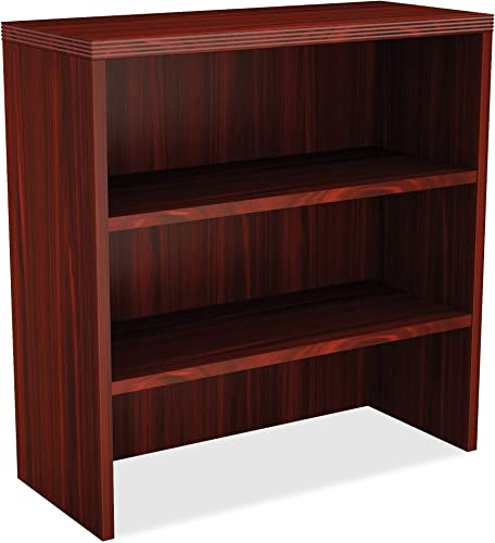 Lorell Chateau Storage Cabinet, Mahogany Laminate Surface