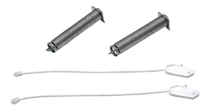 De la Casa DREHFLEX – Cuerda/Muelle/Juego De Reparación para puerta/puerta bisagra para varios dispositivos Bosch/Siemens/Neff – Apto para piezas de ...