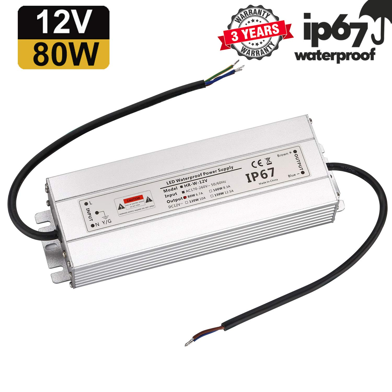 Transformateur LED transformateur Adaptateur secteur pour Stripe 230 V vers DC 12 V 300.00W