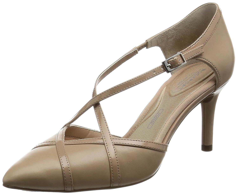 TALLA 39 EU. Rockport Tm75mmpth Cross, Zapatos de tacón con Punta Cerrada para Mujer