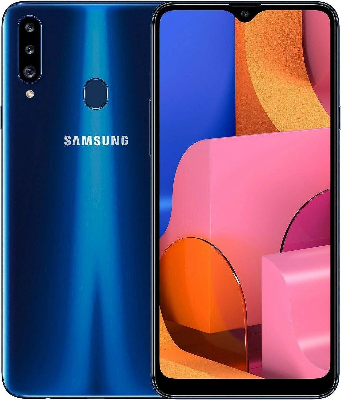Samsung A20s, 32GB, Dual-SIM Smartphone, GSM Unlocked (Worldwide) - Blue