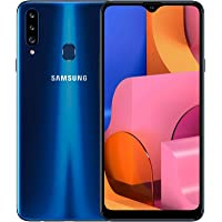 Samsung Galaxy A20s, 32GB, Dual-SIM Smartphone, GSM Unlocked (Worldwide) - Blue