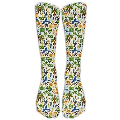 Amazon.com: Brasil - Calcetines deportivos de baloncesto ...