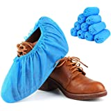 RYOZOCH 100pcs Home Disposable Shoe & Boot Covers, Thick (5g/pc), Non-Slip,Durable for Workplace Medical, Car or Indoor…