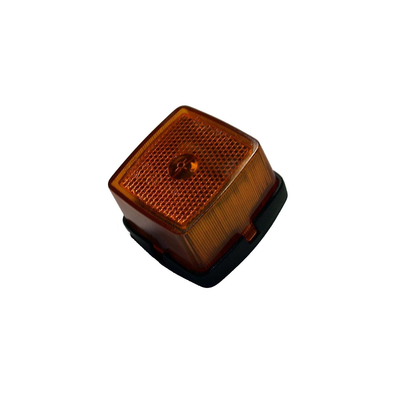ORANGE MARINE Feu Latéral catadioptre Orange 62x65x40 mm ORANGEMARINE