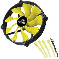 Akasa AK FN073 Viper R 12cm Yuva için 14cm S-Flow Yüksek Performanslı Sessiz Fan