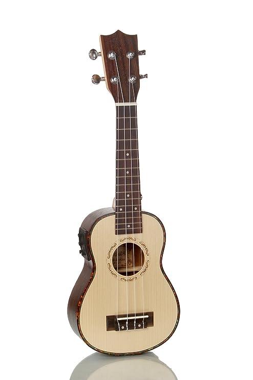 XIE@21 pulgadas de Hawai ukelele palo de rosa abeto guitarra de madera de la