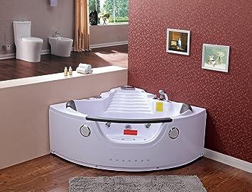 Wunderbar Whirlpool Badewanne U2013 Tiga 603 Heizung/1400 X 1400 X 620/Ozon Desinfektion/