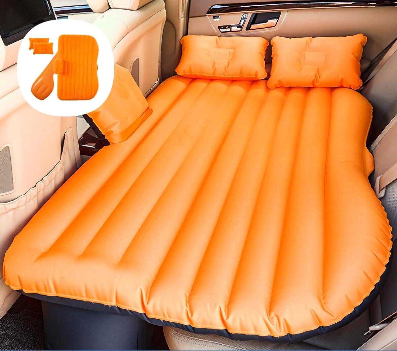 車のインフレータブルマットレス旅行キャンプエアベッドユニバーサルエアカウチ B07FQVCDW5 12 12