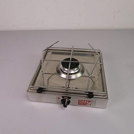 CAN - Soporte de Cocina para hornillo de Gas de 1 Fuego: Amazon.es ...