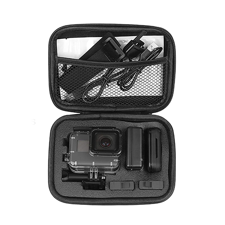 D&F portátil funda de transporte de viaje bolsa de almacenamiento Carcasa a prueba de golpes Caja para GoPro Hero 7/6/5/4/HERO(2018) SJCAM APEMAN ...