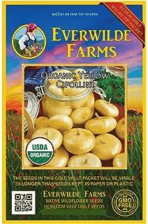 Everwilde Farms Mylar Seed Packet 100 Emerald Okra Seeds