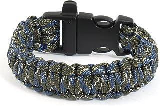 Bracelet Sifflet de survie en plastique Boucle Cobra Weave Nylon Colorful