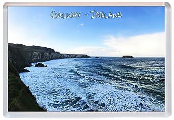 Kühlschrank Irland : Galway u irland u jumbo kühlschrank magnet geschenk souvenir