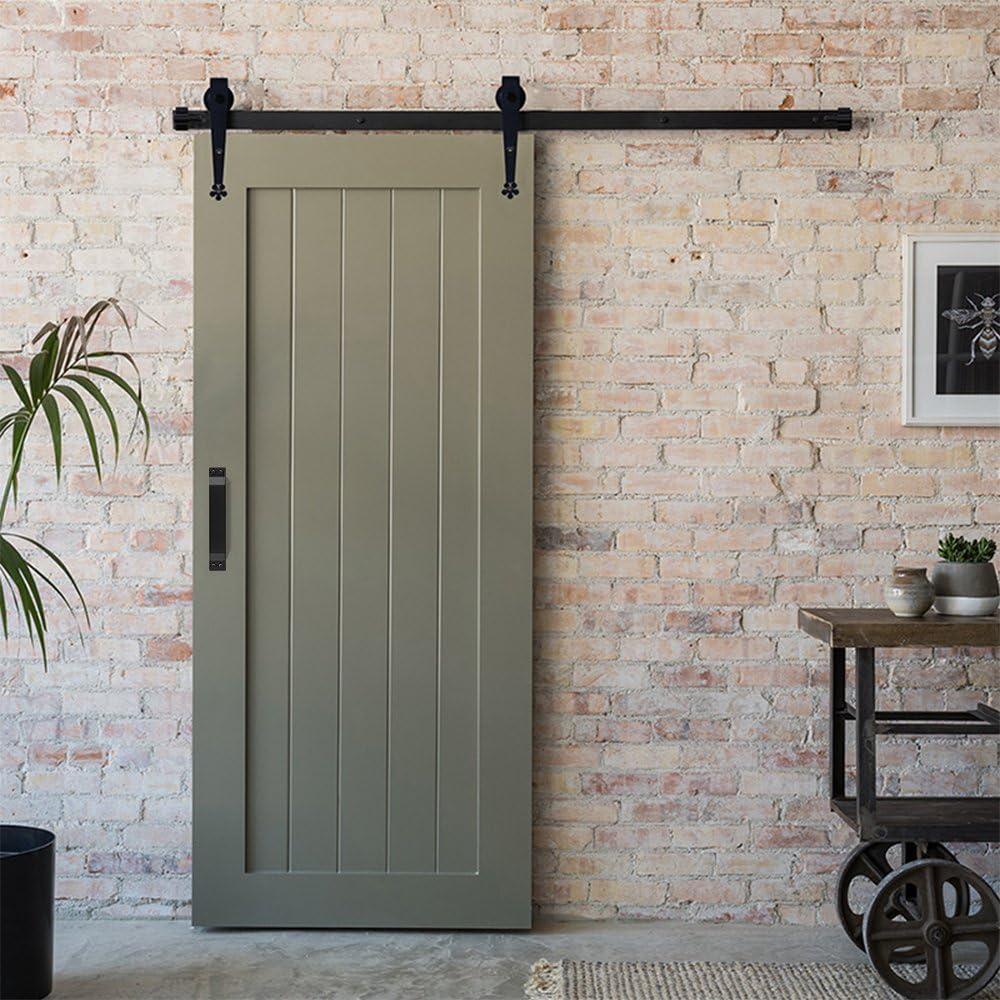 Manija de puerta de barno, de acero inoxidable con mango largo ...