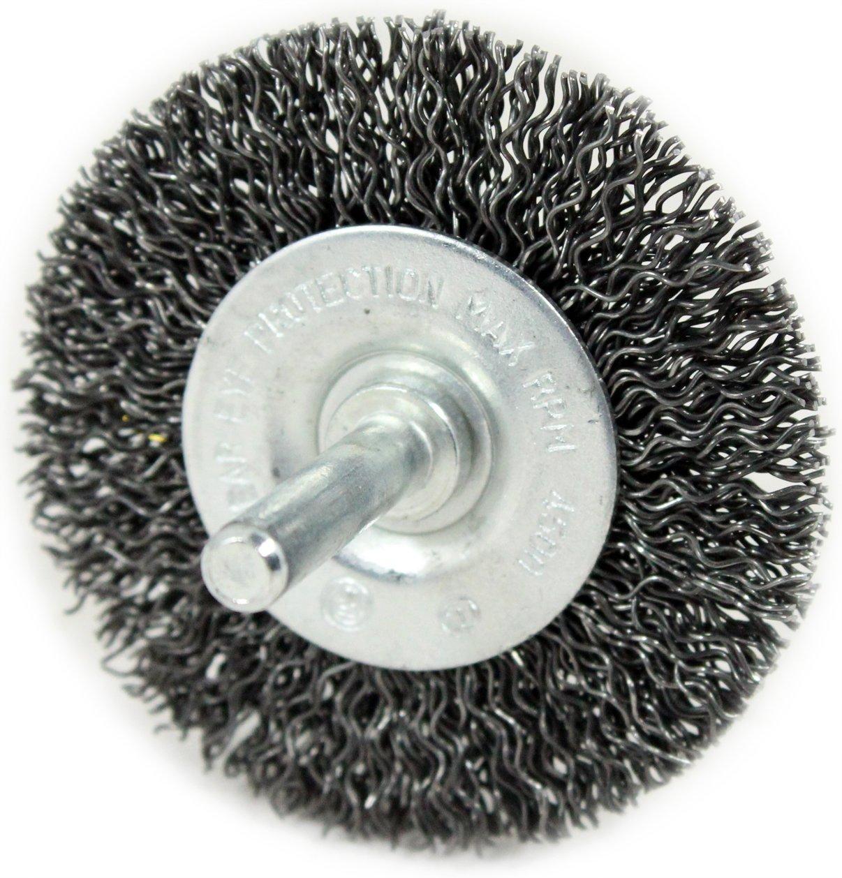 Shark 14029 2.5-Inch Circular Wire Wheel