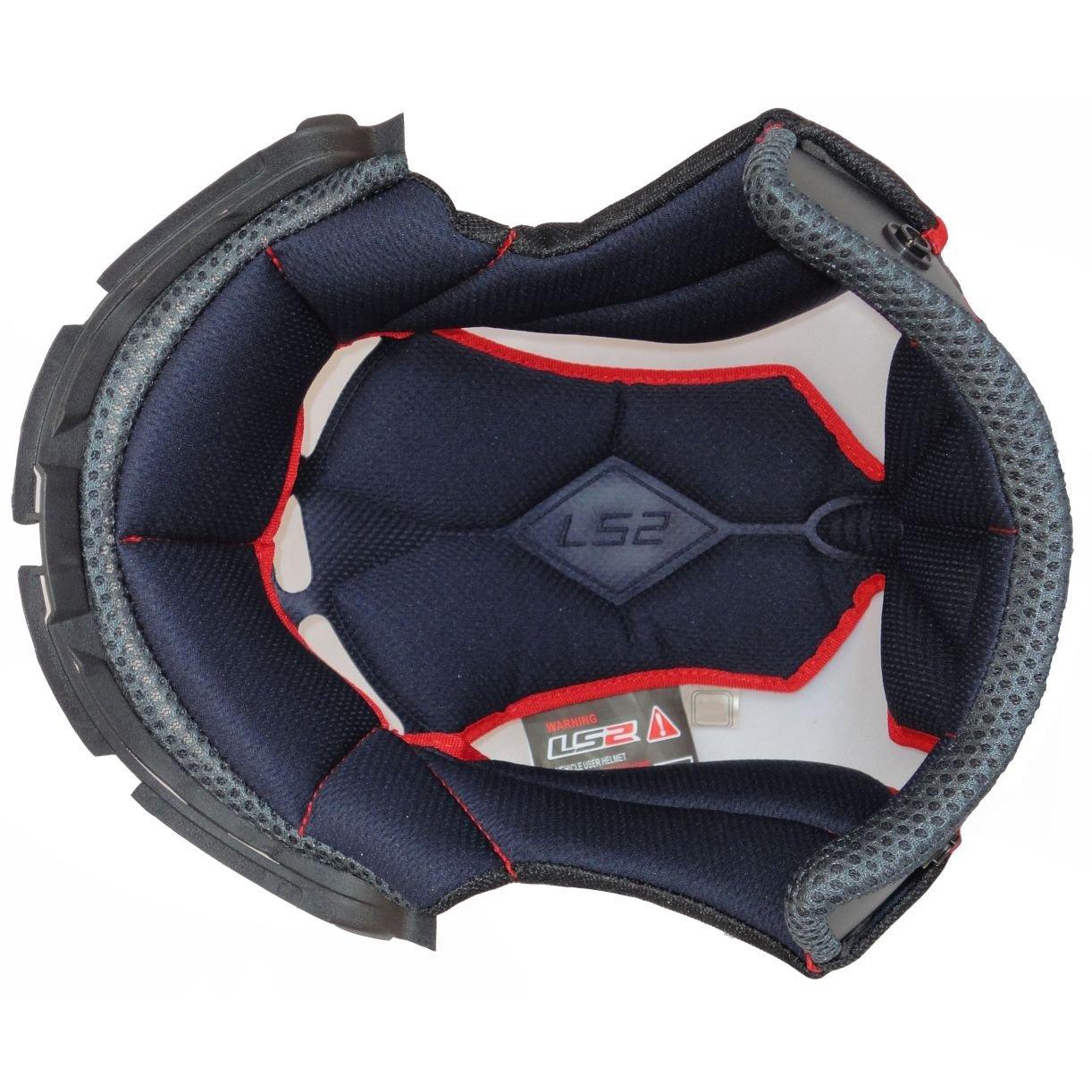 LS2 Helmets MX 442 Helmet Liner (X-Large)