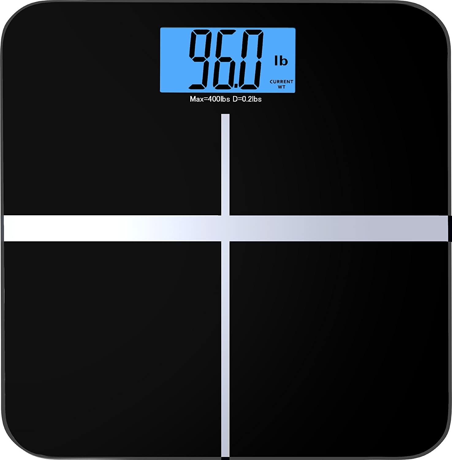 Bathroom scale accuracy consistency - Amazon Com Balancefrom C400blk High Accuracy Premium Digital Bathroom Scale With 3 6 X Large Backlight Display Sports Outdoors