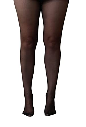 7fb265a31 Essexee Legs Women s Plus Size Open Gusset Tights. EL604. 20DEN. 1 Pair.