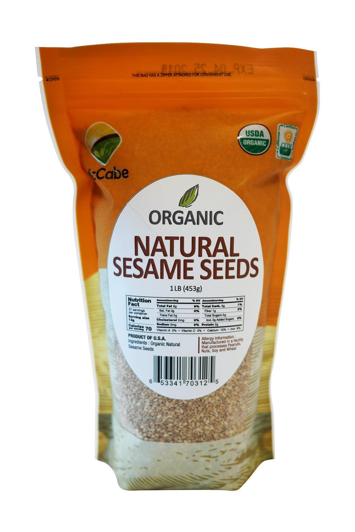 McCabe Organic Sesame Seed, 1.5-Pound